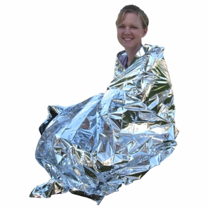 Emergency Mylar Blanket 84'' x 52''
