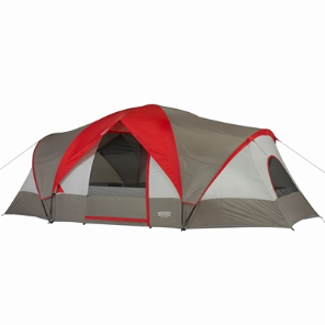 10-Person 3-Room 18' x 10' Family Dome Tent