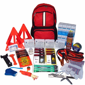 4 Person Roadside Emergency & Survival Kit