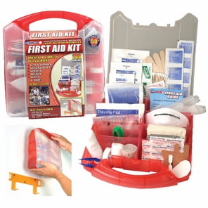 50-Person OSHA First Aid Kit 234-Piece