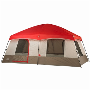 10-Person 2-Room 16' x 10' Family Cabin Tent