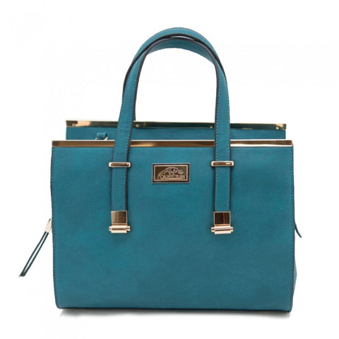 Cora Concealed Carry Purse: Teal