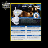 Nightwatcher Robotic LED Light w/HD Camera & WiFi