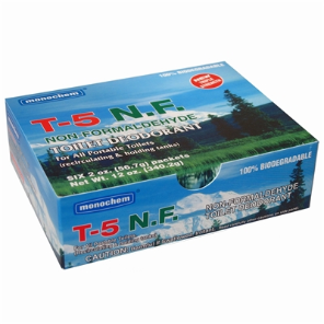 T-5 Toilet Sanitation Chemicals 6-Pack