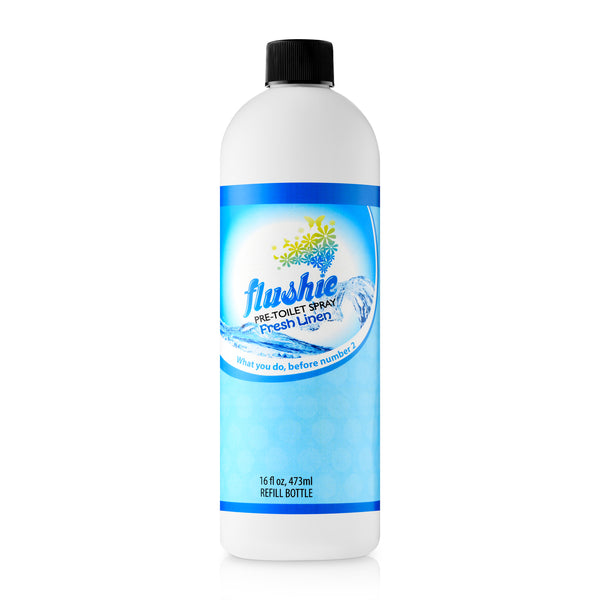 Fresh Linen 16oz Refill Bottle