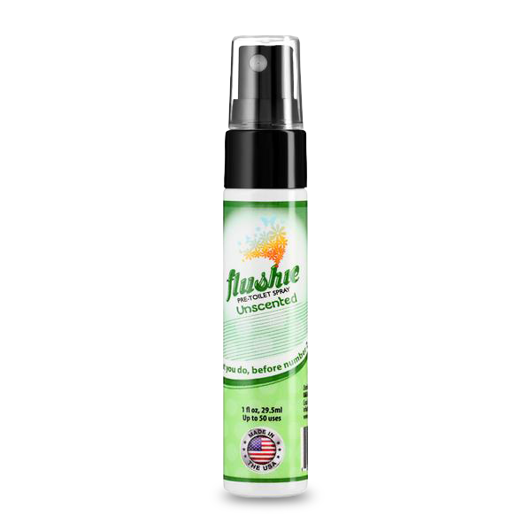 Unscented Travel Size Pre-Toilet Spray