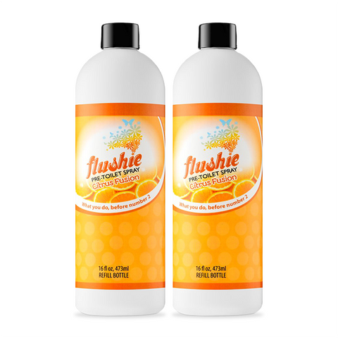 2 Pack Citrus Fusion 16oz Pre-Toilet Spray