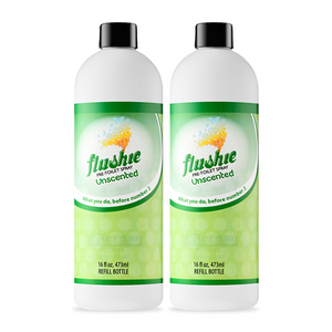 2 Pack Unscented 16oz Pre-Toilet Spray