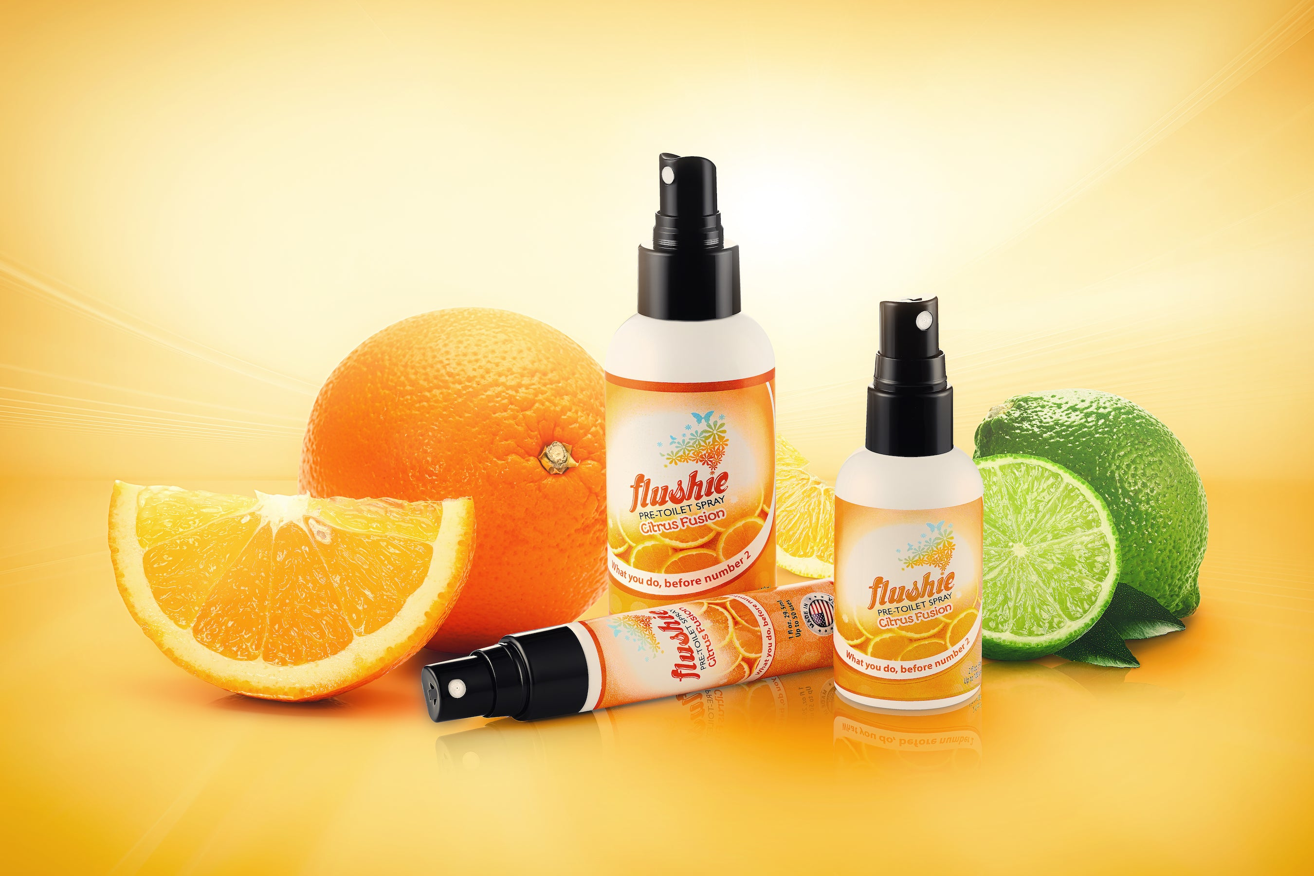 Citrus Fusion 4oz Pre-Toilet Spray