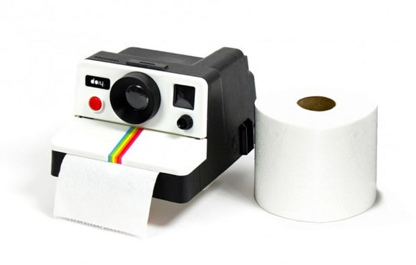 Retro Camera Shaped Toilet Paper Holder