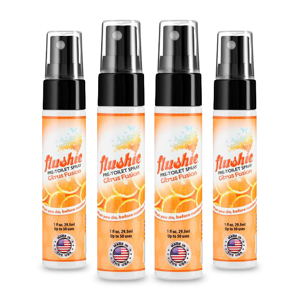 4 pack Citrus Fusion 1oz Travel Sized