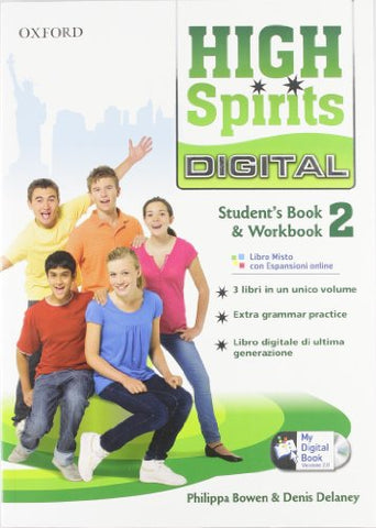 High spirits digital. Student's book-Workbook-Mydigitalbook 2.0. Per la Scuola media. Con CD-ROM. Con espansione online