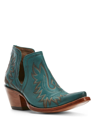 Womens Dixon Western Boots Agate Green