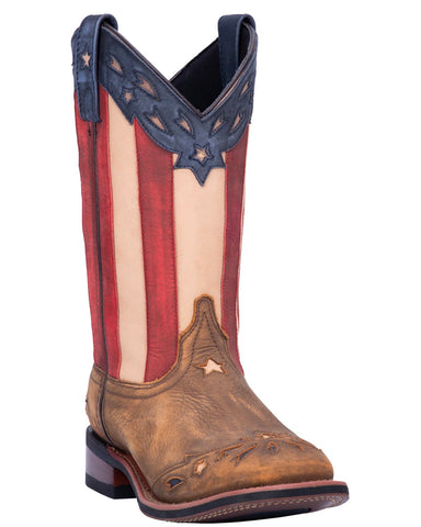 Womens Wheat Flag Boots