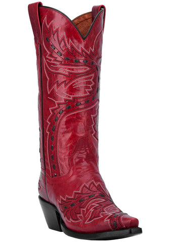 Womens Red Volcano Sidewinder Boots