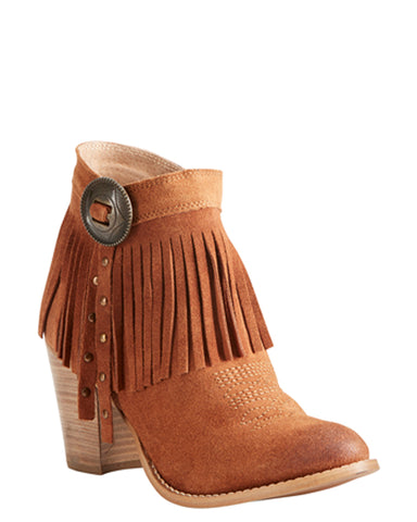 Womens Unbridled Avery Suede Short Boots