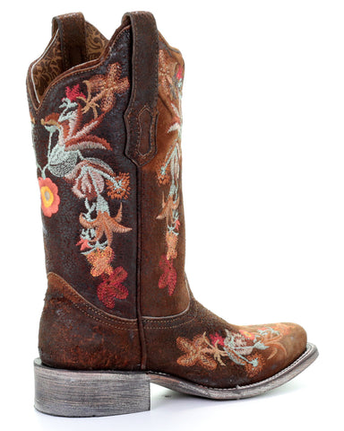 746d659ebe5 Corral Women's Floral Embroidered Western Boots