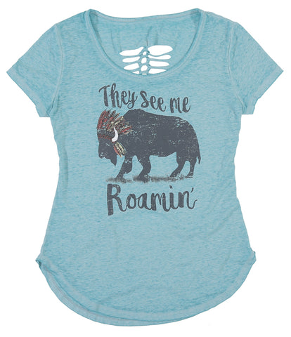 Womens Roamin Lattice T-Shirt