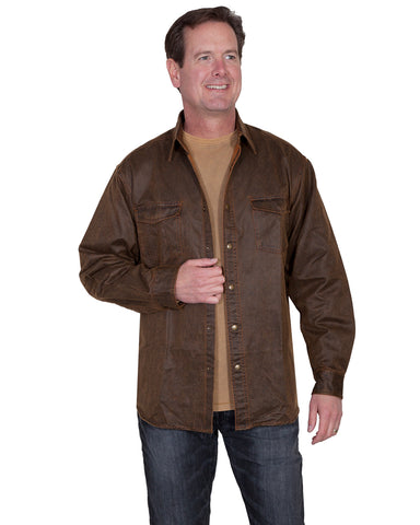 Men's Moleskin Western Shirt