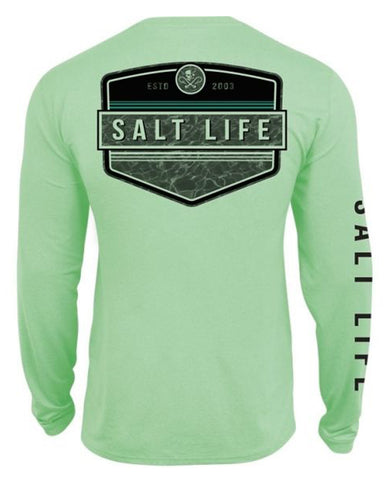 Men's Calm Waters Performance T-Shirt - Green