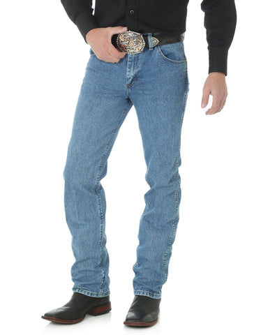 Mens Premium Performance Slim Fit Jean - Stonewash