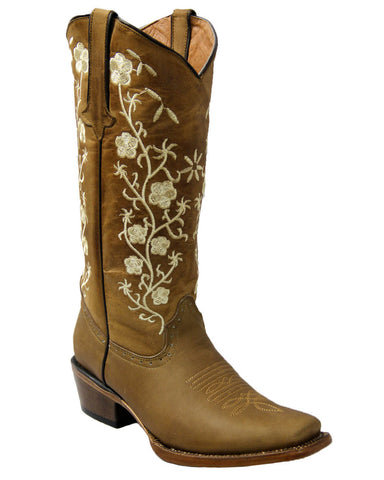 Women's Turnin Embroidered Boots
