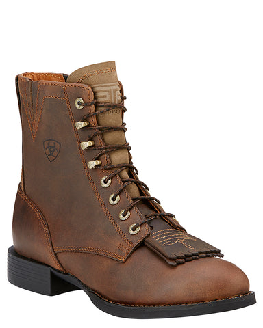 Womens Heritage Lacer Boots - Brown