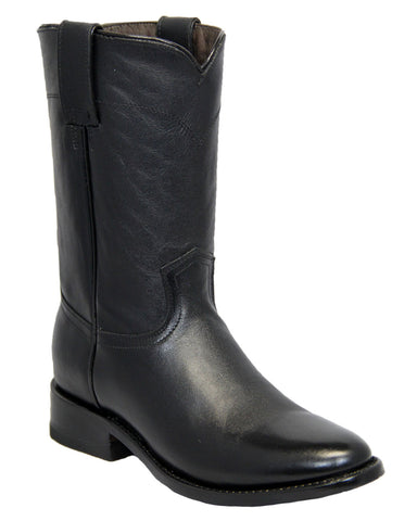 Mens Roper Toe Leather Boots