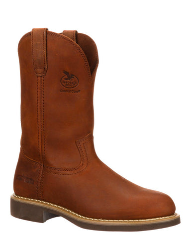 Mens Carbo-Tec Farm and Ranch Pull-On Boots