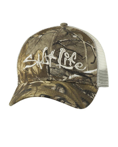 Salt Life Incognito Camo Snap Back Ball Cap