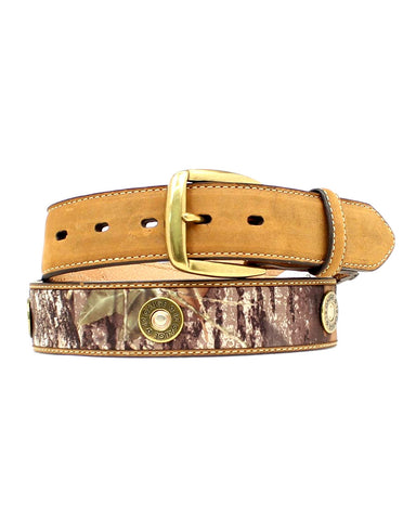 Mens Mossy Oak Shot Gun Shell Belt