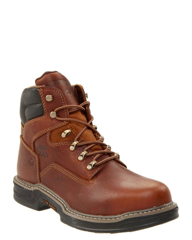 "Mens Raider 6"" Steel-Toe Lace-Up Boots"