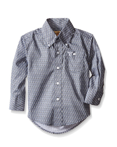 Boy's 20X Long Sleeve Western Shirt