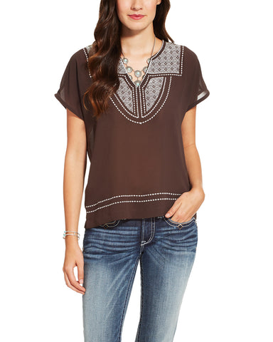 Women's Rio Embroidered Top