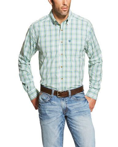 Men's Bradley Performance Plaid Shirt