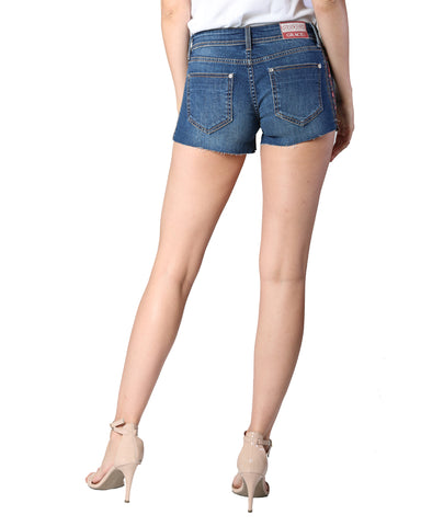 Women's Easy Fit Floral Side Shorts
