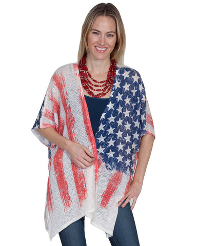 Women's Flag Cardigan