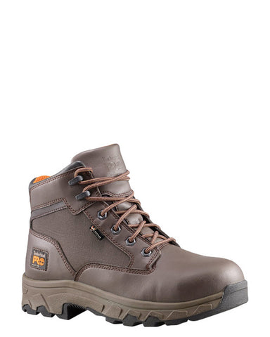 "Mens Pro Linden 6"" Alloy Lace-Up Boots"