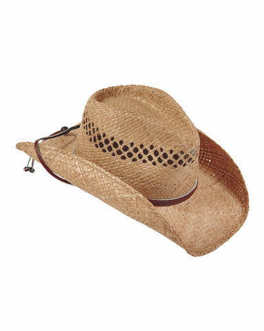 7092df2d Stetson's Bridger Rafaia Straw Hats – Skip's Western Outfitters