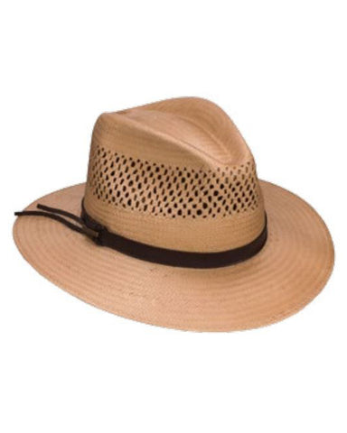 Peak View Shantung Straw Hat