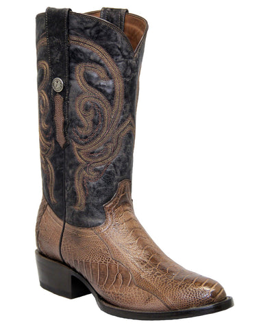 Mens Mad Dog Ostrich Boots