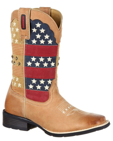 Womens Mustang Patriotic Western Boots