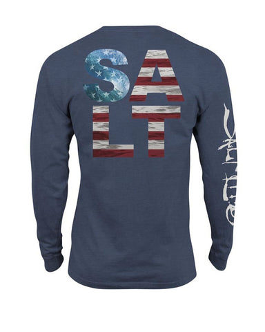 Men's American Salt Long Sleeve T-Shirt