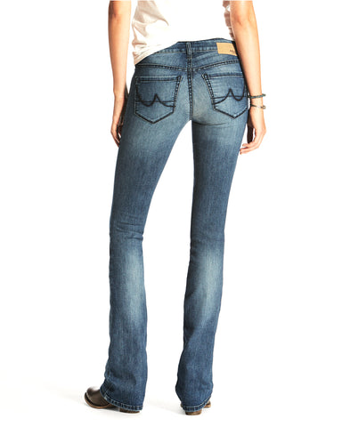 Womens Ultra Stretch Demi Boot Cut Jeans