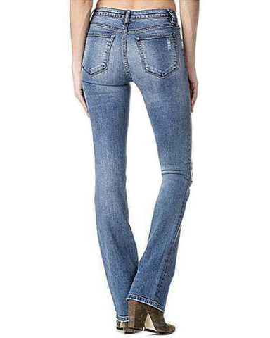 Women's Plain Boot Cut Jeans