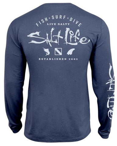 Men's Watermans Trifecta Long Sleeve Performance T-Shirt