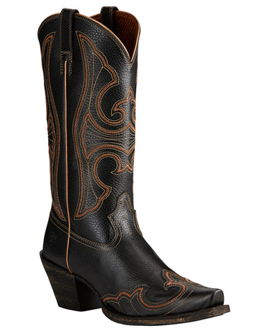 Womens Round Up Wingtip Boots