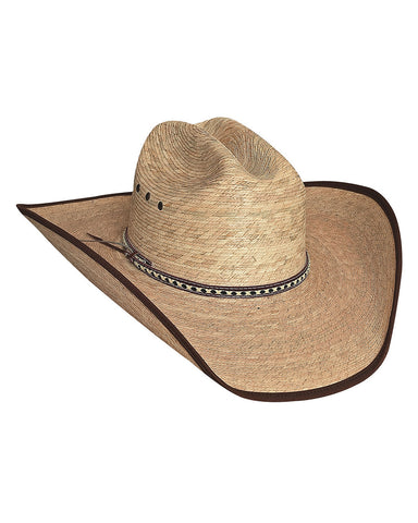 Bullhide 15X Wide Open Palm Leaf Straw Hat