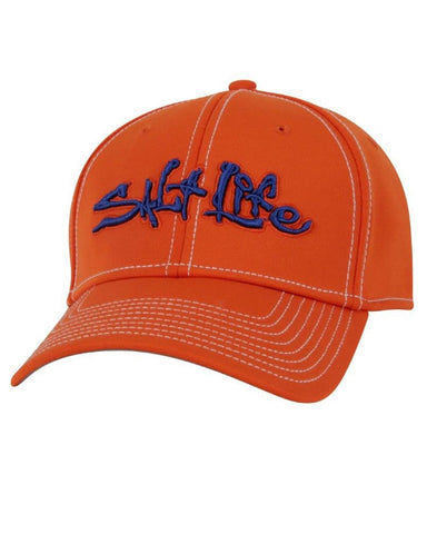 Salt Life Technical Signature Ball Cap - Orange