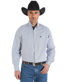 Men's George Strait Troubadour Check Western Shirt